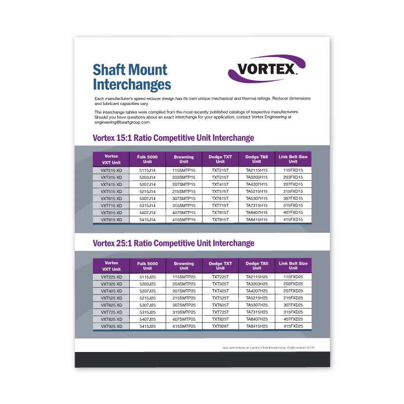 Vortex Shaft Mount Interchanges Icon